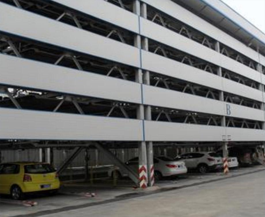 黄平PSH5五层升降横移机械式立体停车设备